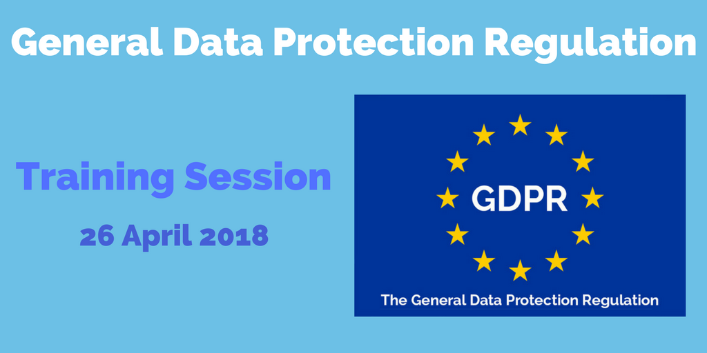 GDPR Training Session