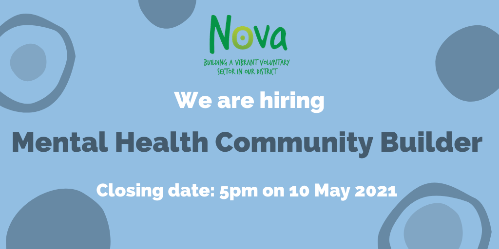 We are recruiting! Mental Health Community Builder