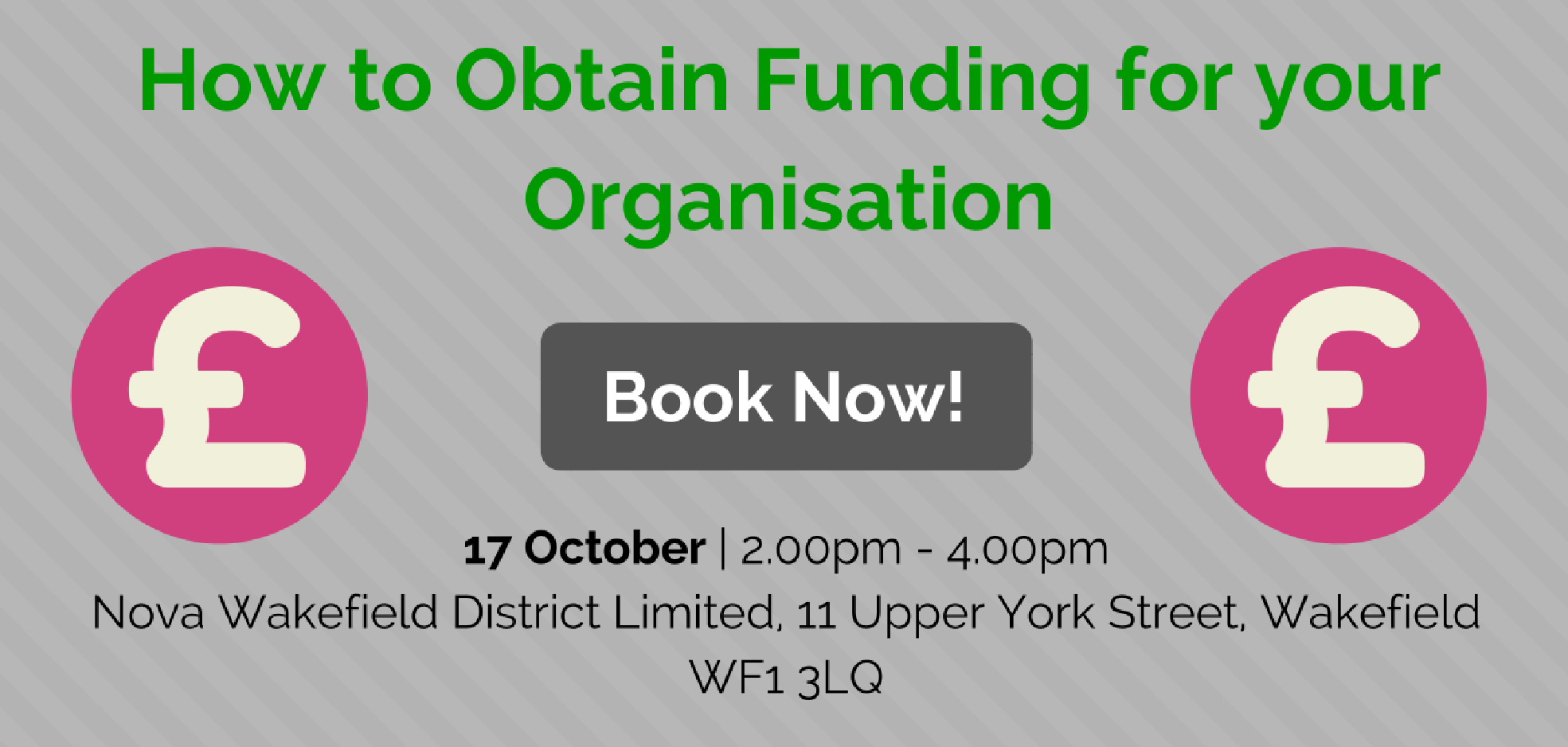 Nova Learning and Networking - How to Obtain Funding for your Organisation